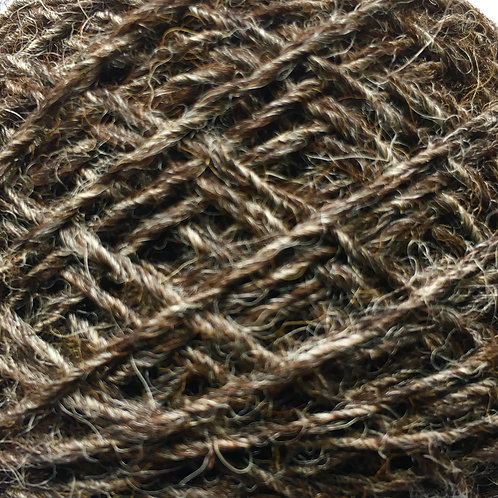 DK Dark Brown Yarn 50g