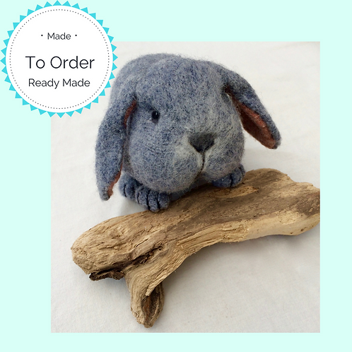 Custom Made Lop Eared Rabbit