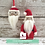 Thumbnail: Father Christmas and bauble Digital Download pattern