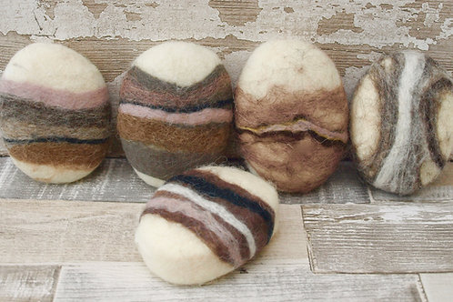 Felted soap Gift set of 3