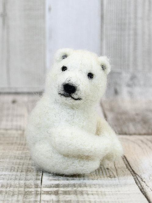 Tinsel Twins Polar Bear Cubs Digital Download Pattern