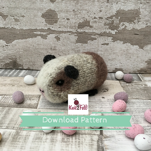 Sorrel the Mini Guinea Digital Download Pattern