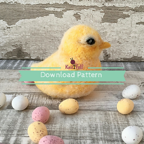 Buttercup the chick Digital Download Pattern