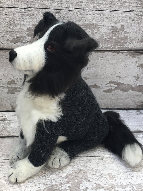 Douglas the Collie Digital Download Pattern