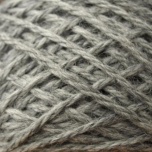 50g Aran yarn grey