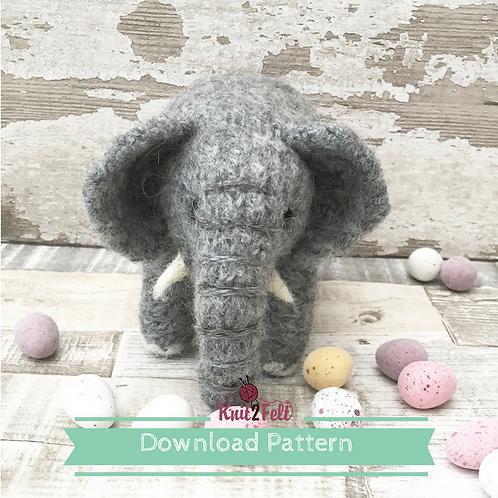 Juniper (Mini Make elephant) Digital Download Pattern