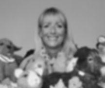 portrait with animals