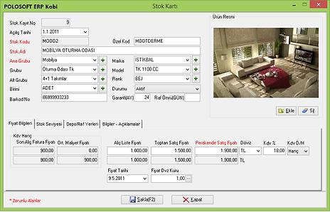 ERP Kurumsal Kaynak Yönetimi Yazılımı POLOSOFT