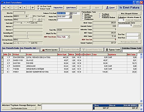 otosoft oto servis yedek parça dms yazılım software