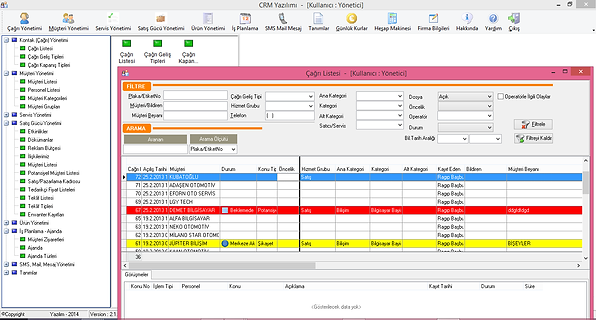 CRM Yazılımı Polosoft CRM Software