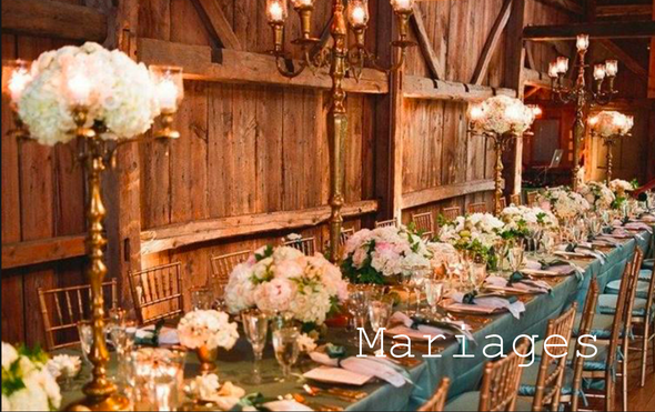 Locations mariages