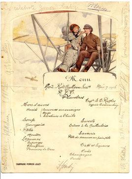 March 7 1916 To Celebrate Jones' baby