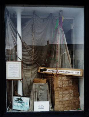 Window display about this project