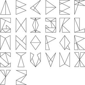 Leila - eigen font