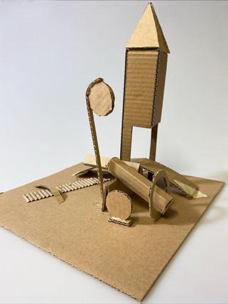 Sam M -Maquette architectonic