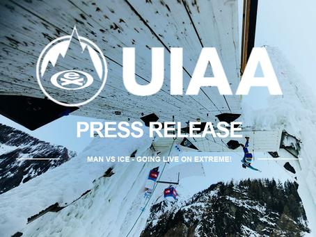 UIAA PRESS RELEASE