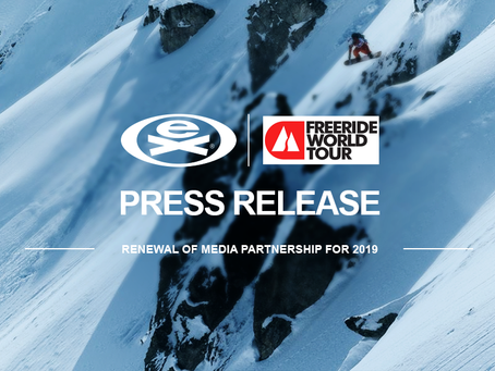 The Freeride World Tour partners with EXTREME