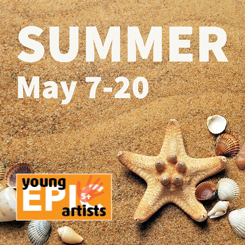 Summer - An art class for 5-7 year olds