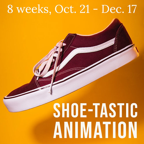 """Shoe-tastic Animation"" - Stop-motion Animation from Scratch"