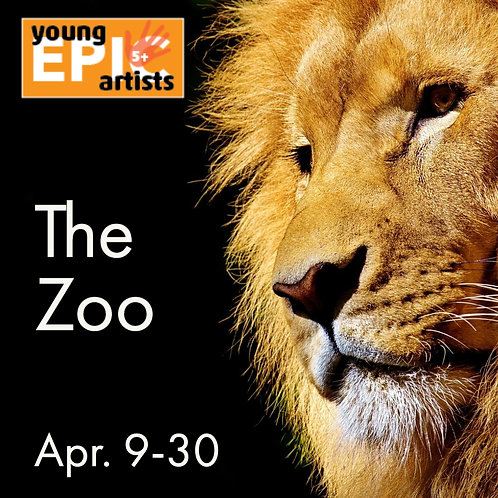 The Zoo - An art class for 5-7 year olds