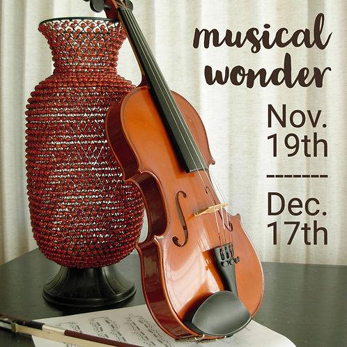 Musical Wonder - An art class for 5-7 year olds