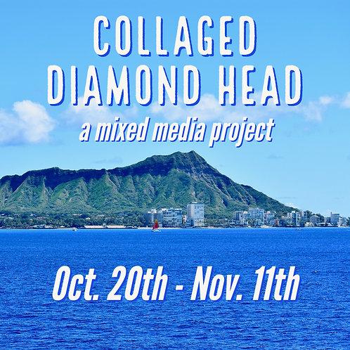 Collaged Diamond Head
