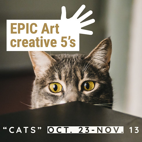 """""""Cats"""" - An art class for 5 year olds"""