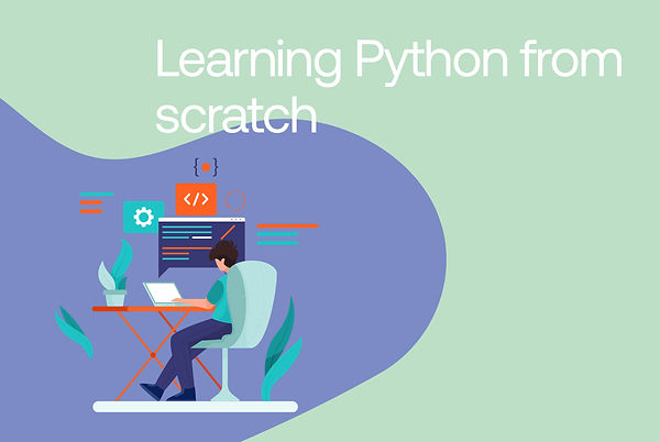 Learning Python from scratch.jpg