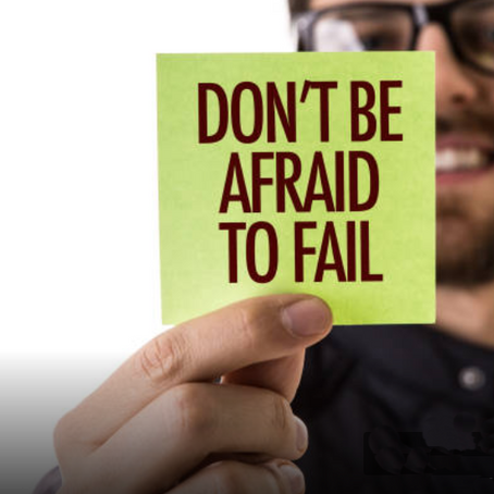 Manage your fear of failure