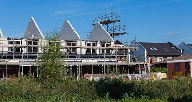 Gemiddelde koopsom nieuwbouwwoning naar €419.990