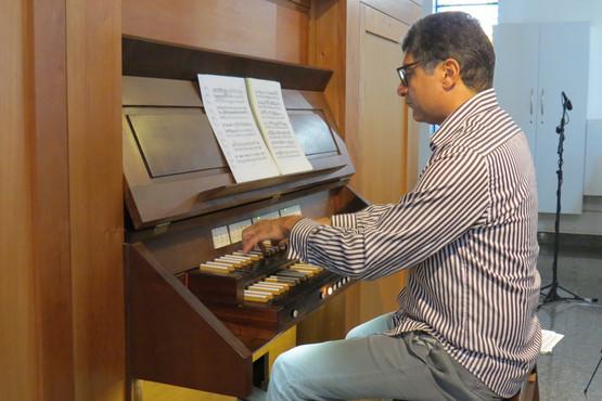 Concerto de Órgão - Robson Bessa