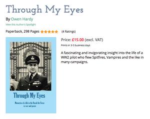Wing Commander Owen Hardy Through My Eyes spitfire pilot