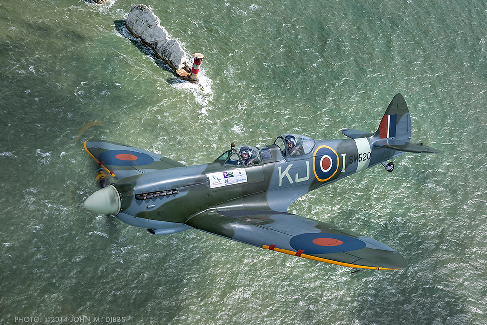 Win a Spitfire flight over white cliffs with the Boultbee Flight Academy