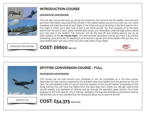 Spitfire training