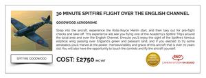 Spitfire Flight Boultbee Flight Academy