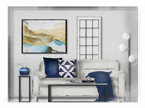 Livingroom Elevation Rendered Final_Bagl
