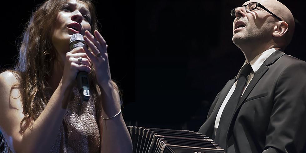 SUSPENDIDO _ Mariel Martínez con Fabián Carbone