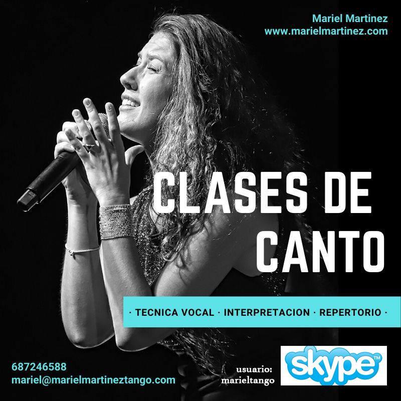 Bono 4 Clases de Canto