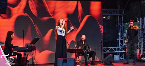 Concierto en Festival Verano Malmo de Suecia