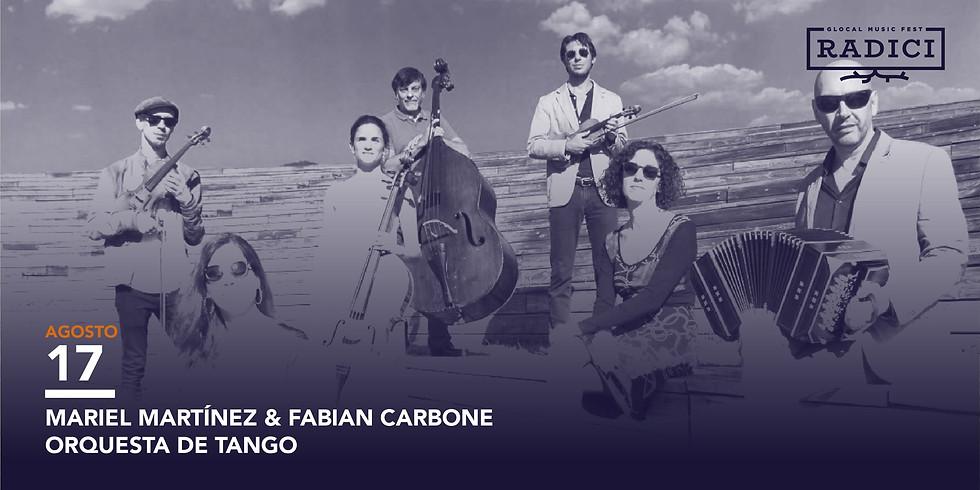 Mariel Martínez & Fabian Carbone Sexteto en Italia RADICI GLOBAL MUSIC FEST