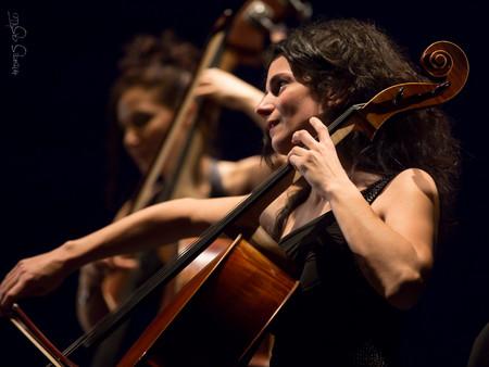 Mariel Martínez y Fabián Carbone Sexteto Blanca López Rubal en el violonchelo