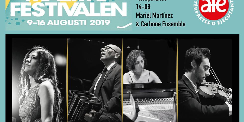 Mariel Martínez & Fabian Carbone Ensemble en Malmo Festivalen