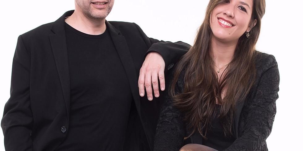 Mariel Martinez y Fabián Carbone