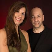 Mariel Martinez y Fabian Carbone