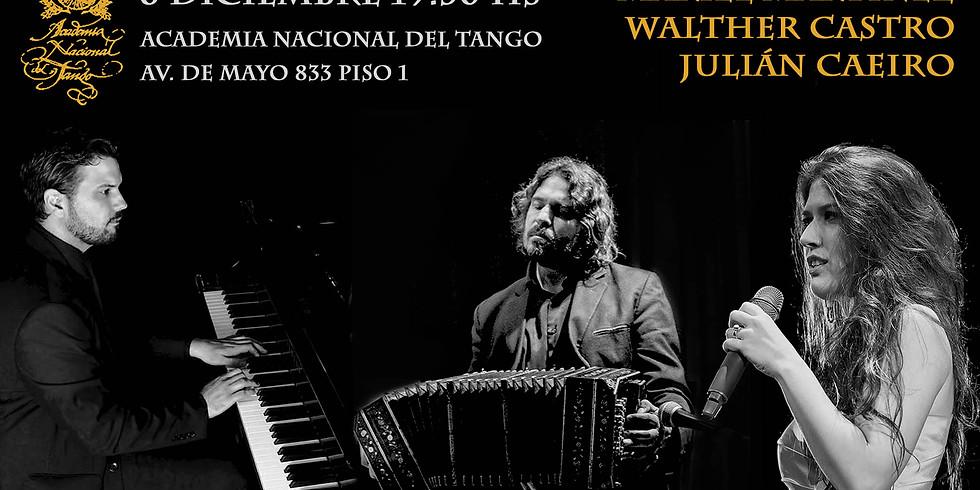 Mariel Martínez en La Academia Nacional del Tango
