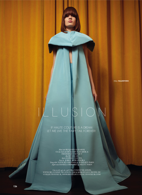 Daniela Didenko in Haute Couture Illusio