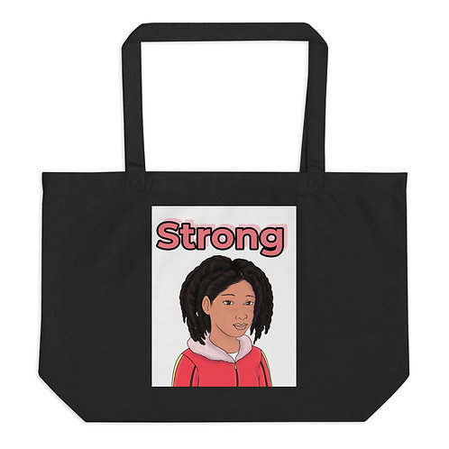 Large organic tote bag strong