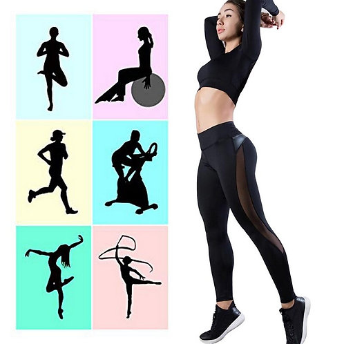Workout Leggings Mujer Elastic Slim Pants Push Up Leggings for Fitness