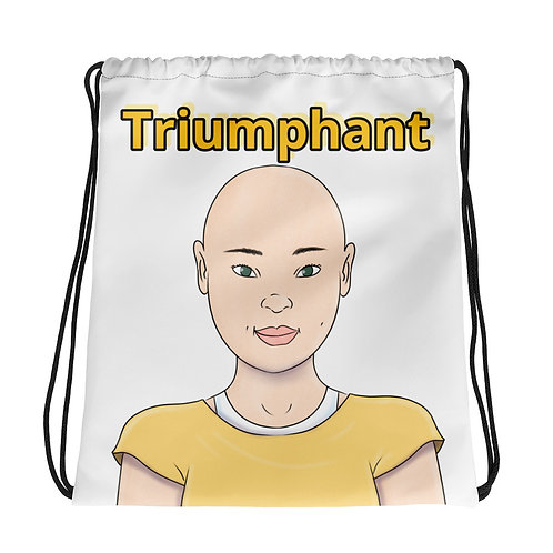 Drawstring bag triumphant