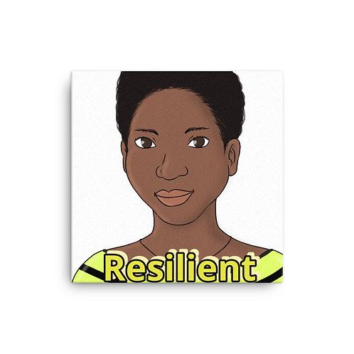 Canvas resilient